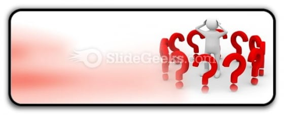 Man With Question PowerPoint Icon R