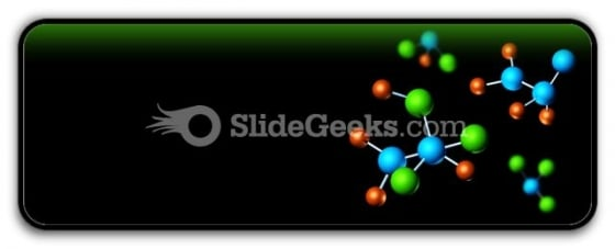 Molecular Structures PowerPoint Icon R