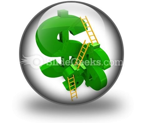 Money Ladder Ppt Icon For Ppt Templates And Slides C