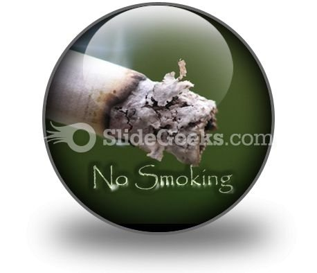 No Smoking PowerPoint Icon C