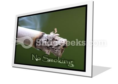 No Smoking PowerPoint Icon F