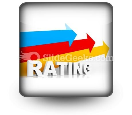 Rating Ppt Icon For Ppt Templates And Slides S