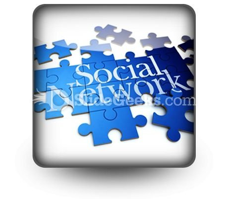 Social Network PowerPoint Icon S