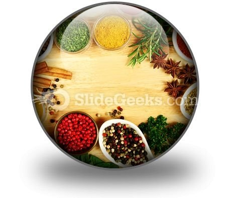Spices Food PowerPoint Icon C