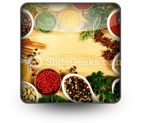 Spices Food PowerPoint Icon S