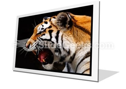 Tiger PowerPoint Icon F