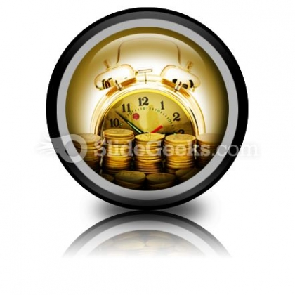 Time Is Money Concept Ppt Icon For Ppt Templates And Slides Cc