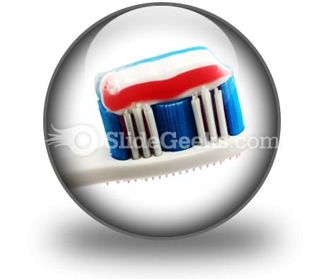 Toothbrush PowerPoint Icon C