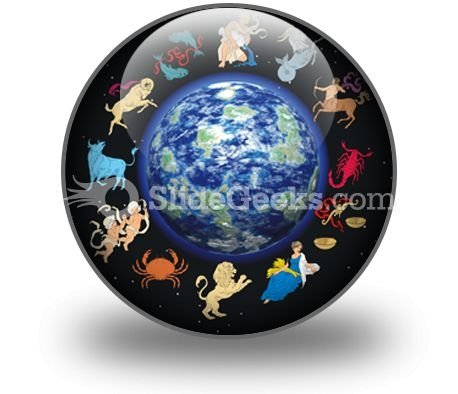 Zodiac Signs PowerPoint Icon C