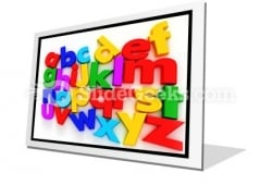 A To Z PowerPoint Icon F