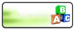 Abc Blocks Education PowerPoint Icon R