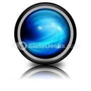 Abstract Blue Ppt Icon For Ppt Templates And Slides Cc