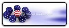 Abstract Spheres PowerPoint Icon R