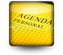 Agenda PowerPoint Icon S
