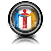Agreement With Intermediary PowerPoint Icon Cc
