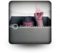 Aha PowerPoint Icon S