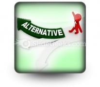 Alternative PowerPoint Icon S