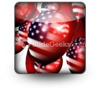 America Balloons01 PowerPoint Icon S