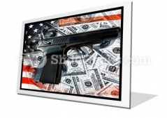 American Voilence PowerPoint Icon F