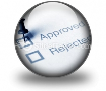 Approved PowerPoint Icon C