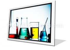Assorted Laboratory Glassware PowerPoint Icon F
