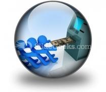 Atm PowerPoint Icon C