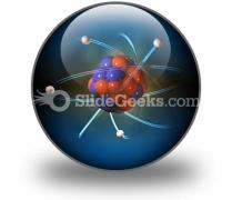 Atom PowerPoint Icon C