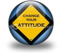 Attitude Sign PowerPoint Icon C