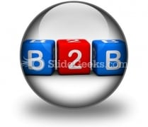 B2b PowerPoint Icon C