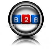 B2b PowerPoint Icon Cc
