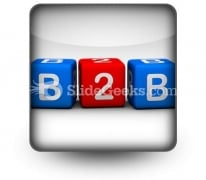 B2b PowerPoint Icon S