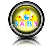 Baby PowerPoint Icon Cc