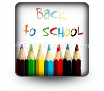 Back To School PowerPoint Icon