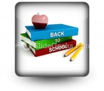 Back To School PowerPoint Icon S