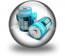 Battery Concept Energy PowerPoint Icon C