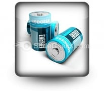 Battery Concept Energy PowerPoint Icon S