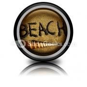 Beach PowerPoint Icon Cc