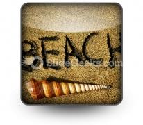 Beach PowerPoint Icon S