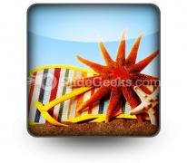 Beach Still Life PowerPoint Icon S