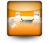 Big Results PowerPoint Icon S