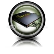 Book Of Success PowerPoint Icon Cc