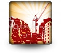 Building Construction PowerPoint Icon S