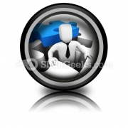 Business Concept PowerPoint Icon Cc