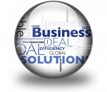 Business Concepts PowerPoint Icon C