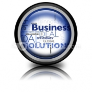 Business Concepts PowerPoint Icon Cc
