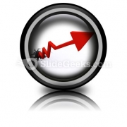 Business Growth Success PowerPoint Icon Cc