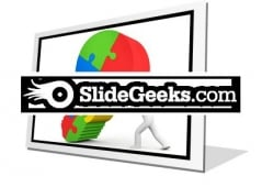 Business Idea Bulb PowerPoint Icon F