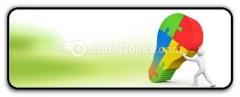 Business Idea Bulb PowerPoint Icon R