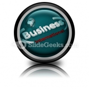 Business International PowerPoint Icon Cc