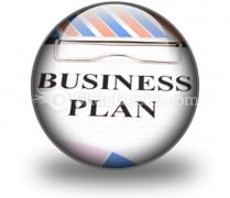 Business Plan01 PowerPoint Icon C